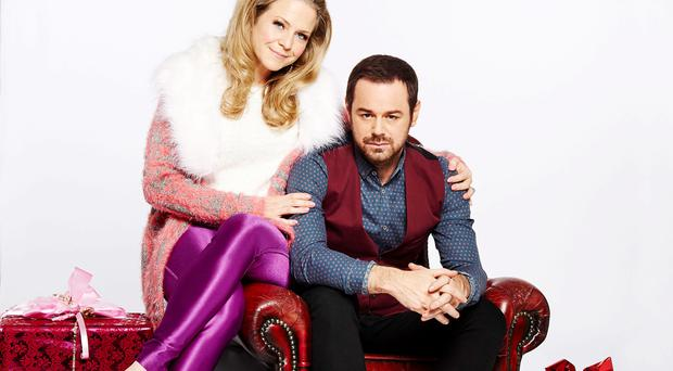Linda Carter (Kellie Bright) and Mick Carter (Danny Dyer)