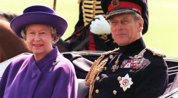 The Queen and the Duke of Edinburgh have attended church in Norfolk