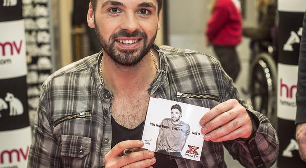 Ben Haenow said the Christmas number one is