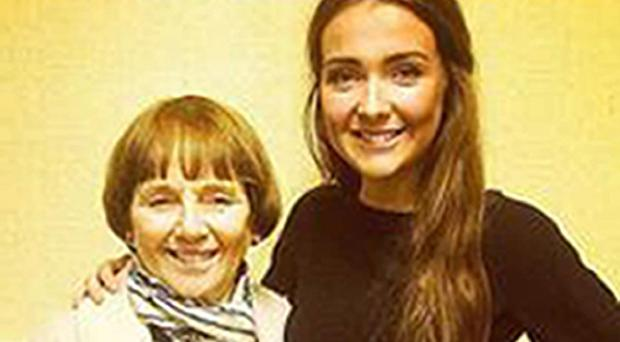 Lorraine Sweeney (left) and her granddaughter Erin McQuade (right) were two of the six people killed