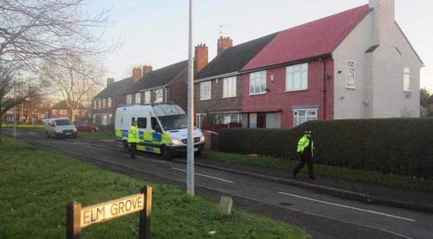 Elm Grove, Scunthorpe, where an elderly couple were seriously injured in a vicious attack