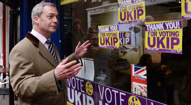 Nigel Farage is the least popular political leader among people aged 17-22, a poll found