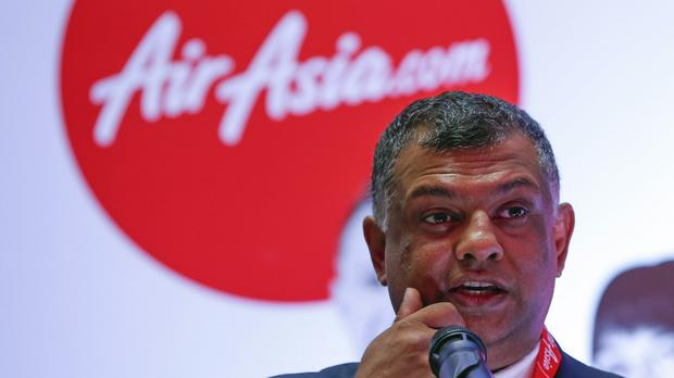 AirAsia chief executive Tony Fernandes retweeted a message from the airline confirming that Flight QZ8501 had lost contact