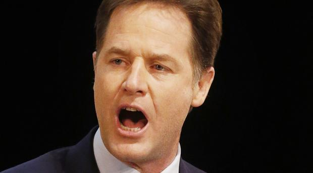 Nick Clegg has urged voters to give his party another term in government