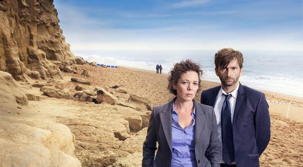 A body at the foot of the cliffs will not be a plotline in the second series of Broadchurch