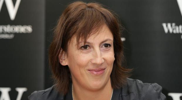 Miranda Hart at the signing of her new book, The Best of Miranda, at Waterstones bookshop as her popular sitcom drew to a close.