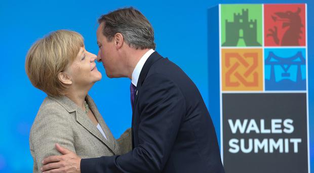 David Cameron and Angela Merkel are to hold talks in London
