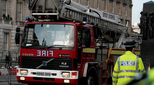 The London Fire Brigade and the Metropolitan Police are investigating the cause of the fire