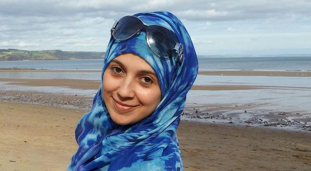Nadine Aburas was found dead in a guest room at the Future Inn hotel in Cardiff on New Year's Eve (South Wales Police/PA)