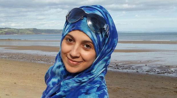 Nadine Aburas was found dead in a guest room at the Future Inn hotel in Cardiff on New Year's Eve (South Wales Police/PA Wire)
