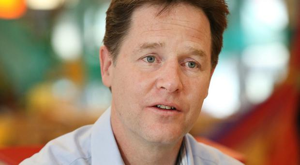Nick Clegg will brand the Conservatives' deficit plans