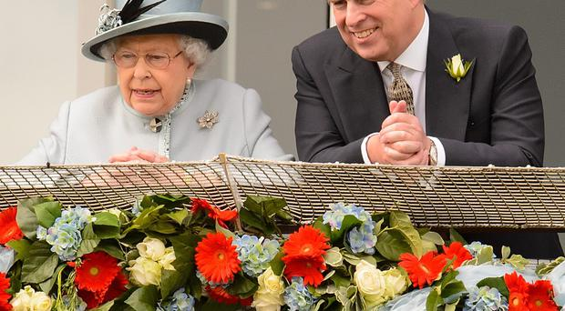 Royal meeting: Prince Andrew is expected to have crisis talks with his mother at Sandringham this week