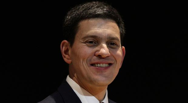 David Miliband has not ruled out a return to British politics, he indicated in an interview for fashion magazine Vogue.