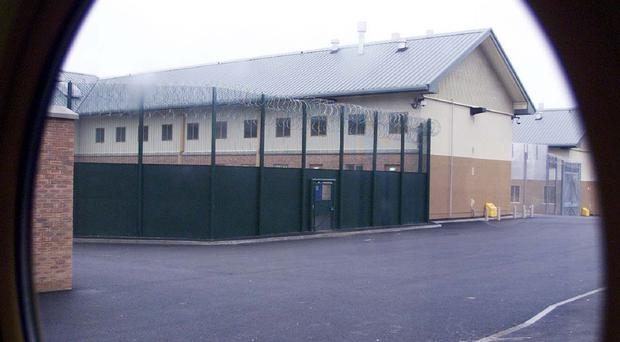 The migrants are housed in detention centres such as Yarl's Wood in Bedfordshire