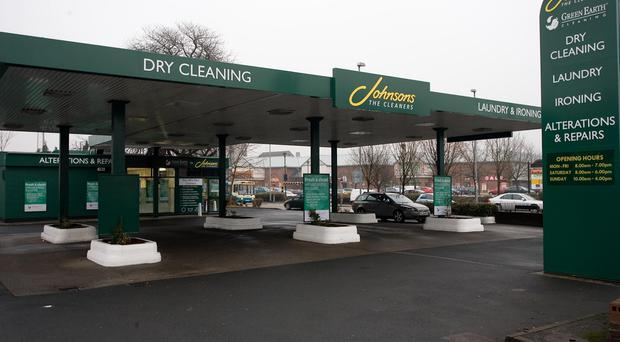 A branch of Johnson's cleaners