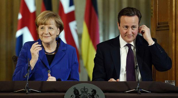David Cameron is expected to hold talks with German Chancellor Angela Merkel about European Union reform