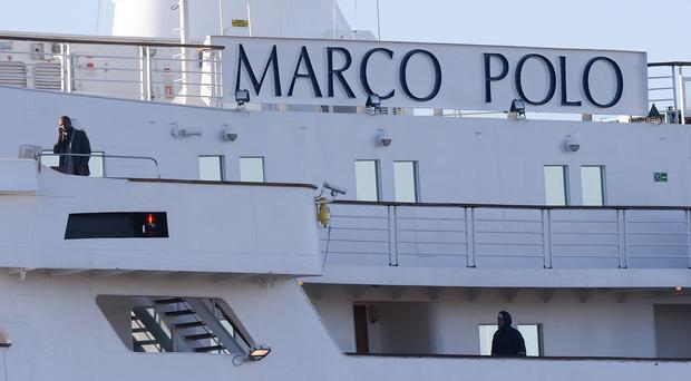 James Swinstead died while on the Marco Polo cruise ship