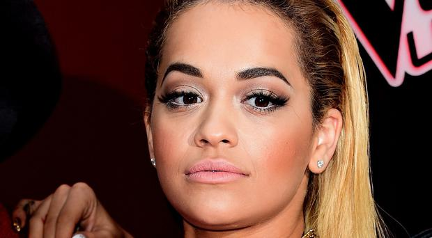 New Voice judge Rita Ora wore a low-cut outfit on BBC's The One Show