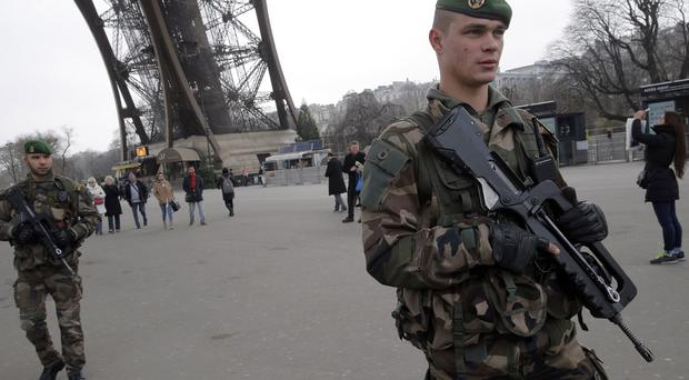 Thousands of soldiers and police have been drafted in to secure the Paris rally