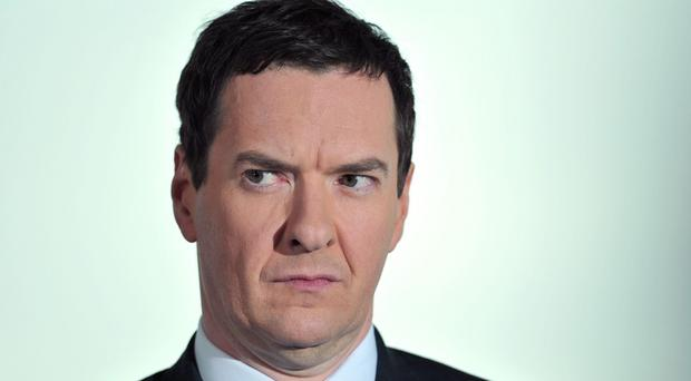 Only 28 per cent of people agree that George Osborne 'is doing a good job in managing the UK economy'