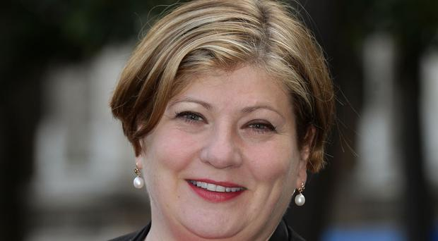 Ex-shadow attorney general Emily Thornberry said it was particularly upsetting to be called a snob over a tweet showing a house draped in flags with a white van outside