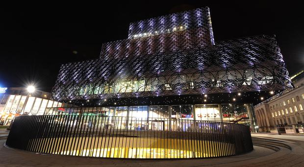 The Library of Birmingham - bemused residents asked if Fox News thought it was a mosque