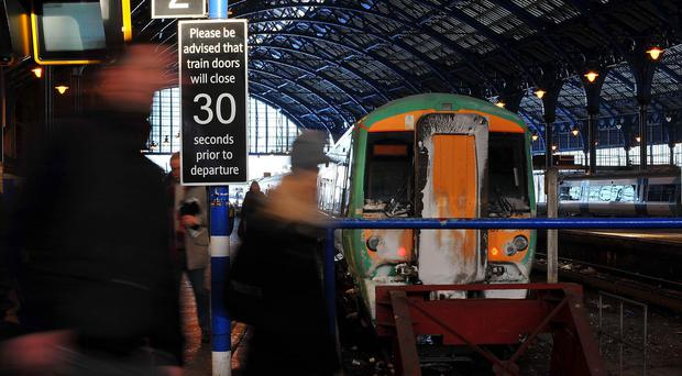 The service from Brighton to London Victoria is never on time