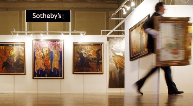 Sotheby's has denied it was negligent