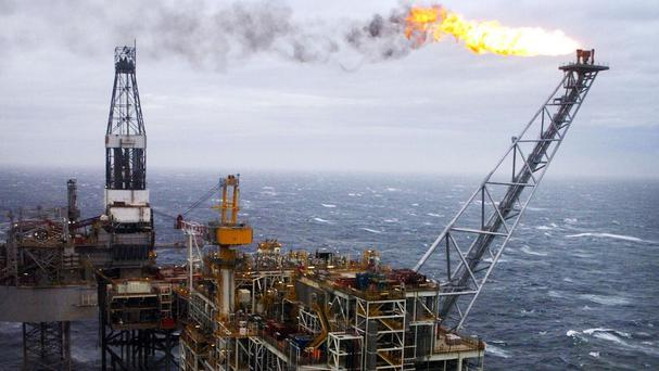 A bounce from North Sea oil and gas prices has helped boost production in the UK