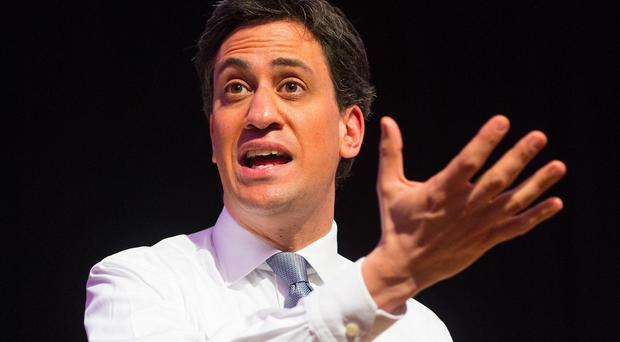 Ed Miliband says the Tories' only plan for the economy is slashing state spending further