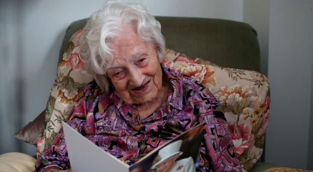 Britain's oldest person Gladys Hooper is celebrating her 112th birthday