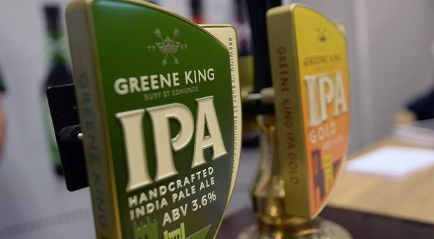 Greene King's Christmas and New Year sales in Scotland were dented by the introduction of tougher drink-drive limits