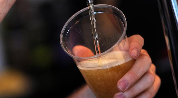 A drink was defined as one containing 14 grams of alcohol, equivalent to just over half a pint of beer