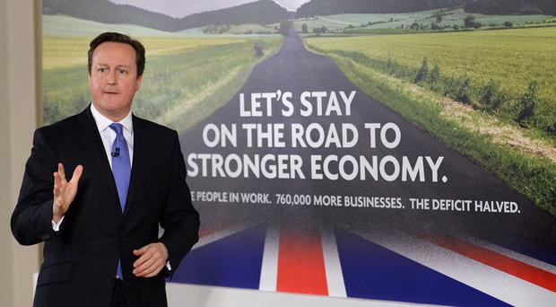 Paul Johnson said the two major parties were offering starkly differing economic plans