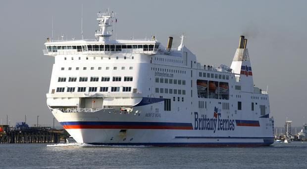The passenger had been on board the Mont St Michel