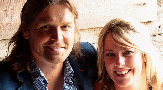 Ami Solomons Hodges and her partner Russell Lee criticised medics (Irwin Mitchell/PA)