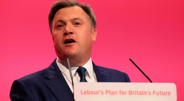 Ed Balls said Conservative plans represented a real risk to the future of the NHS
