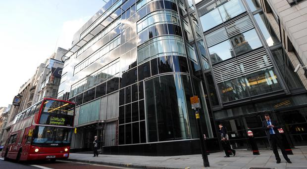 Goldman Sachs' offices in London's Fleet Street, as the bank's head urged Britain to stay in the EU