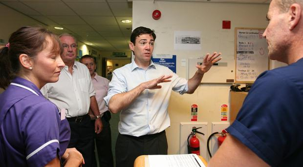 Andy Burnham said treating the separate health and social care budgets as one would deliver much better results