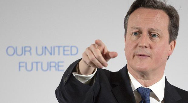 David Cameron says the Tories will reduce the benefits cap to £23,000 within days of regaining power