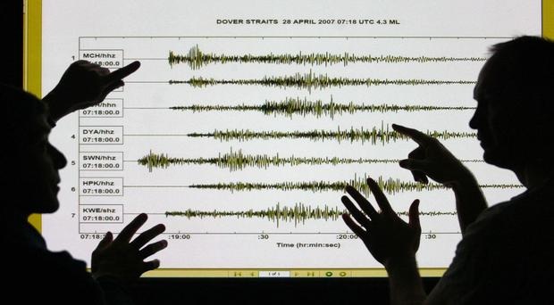 An earthquake with a magnitude of 2.9 has been recorded in Winchester.