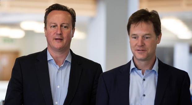 David Cameron and Nick Clegg have hailed agreements with local bodies to deliver £1 billion of projects designed to drive growth