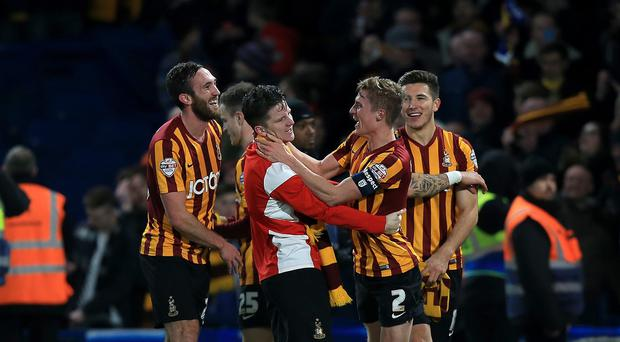 Bradford City caused one of the biggest FA Cup shocks in recent years by beating Chelsea 4-2 at Stamford Bridge
