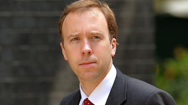 Cabinet Office minister Matthew Hancock said the measure was part of the Government's goal of ending a