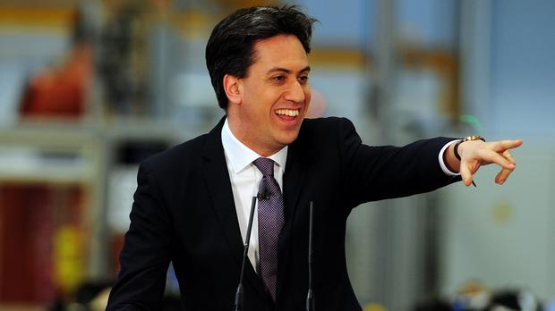 The latest polls make happy reading for Labour leader Ed Miliband