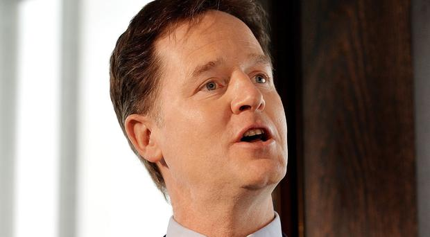 Liberal Democrat party leader Nick Clegg has set out plans to boost the economy