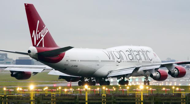 Virgin Atlantic boss Sir Richard Branson praised staff for doing