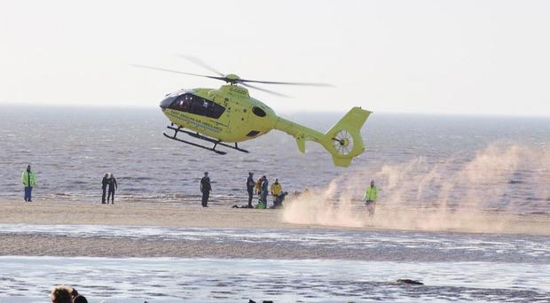 The East Anglian Air Ambulance's bid to save Sean Sands was in vain