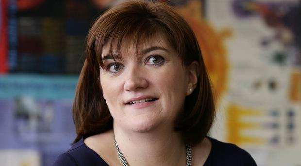 Education Secretary Nicky Morgan said schools need to do more to help youngsters
