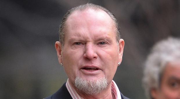 Former footballer Paul Gascoigne has said his paranoia at the height of his cocaine use was